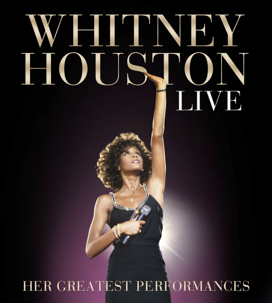 The cover to the posthumous live release by Whitney Houston.