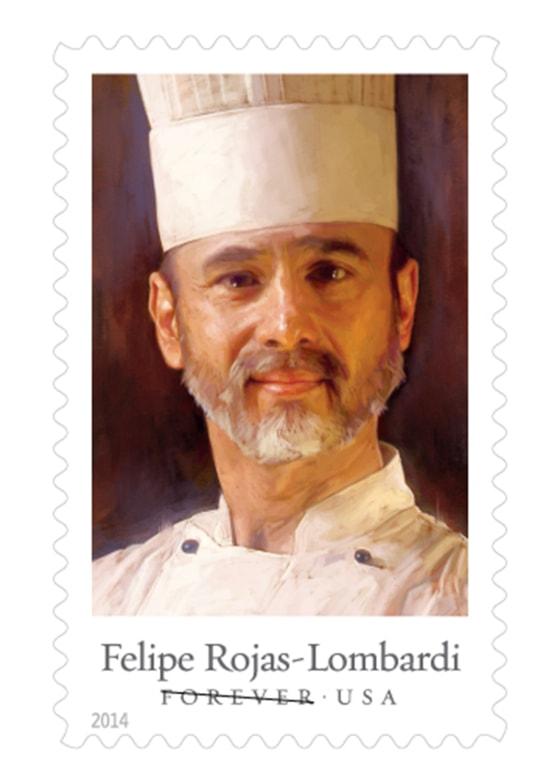 Felipe Rojas-Lombardi stamp