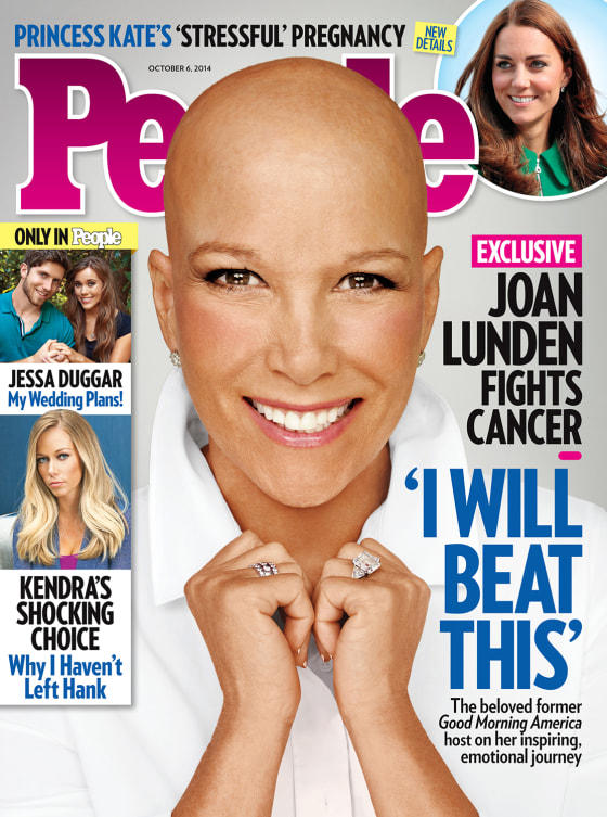 Joan Lunden, on the Oct. 6 issue of People magazine.