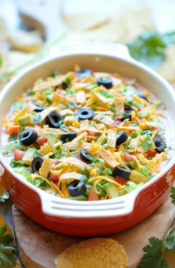 Super Bowl party recipes: mini taco bowls, bacon dip, more ...