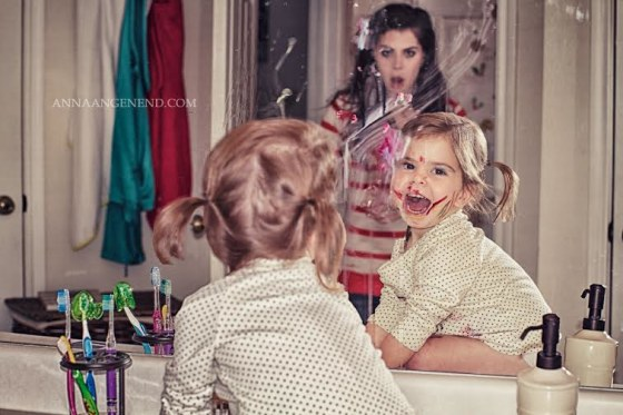 Makeup mishap
