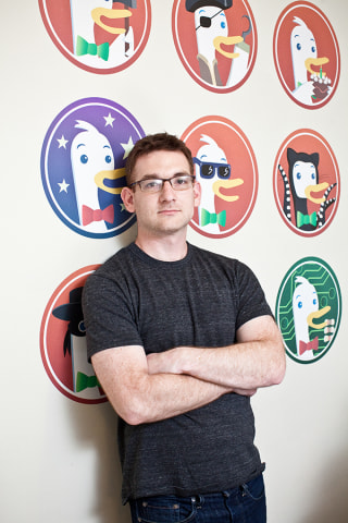DuckDuckGo CEO and founder Gabriel Weinberg.