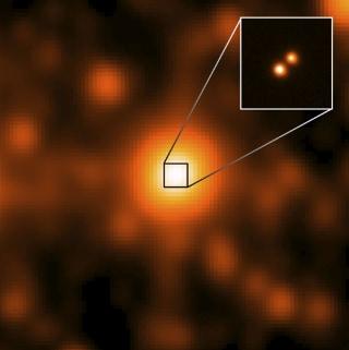 Image: Brown-dwarf system
