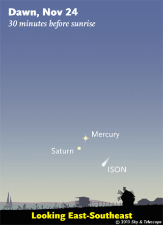 Image: Looking for Comet ISON
