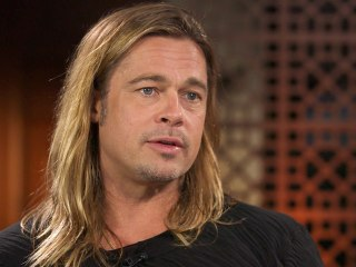 """Brad Pitt says he's only in """"12 Years a Slave"""" to """"support the story,"""" not to star."""