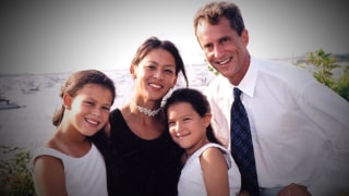 Amy Chua, Jed Rubenfeld and their two daughters.