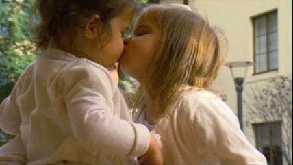 Evangelina can get kisses now, thanks to a new treatment for her rare immune condition.