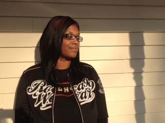 "Tamesha Means was rushed to Mercy Health Partners in Muskegon in December 2010 when her water broke after 18 weeks of pregnancy. The hospital sent her home twice, even though she was in ""excruciating pain."""
