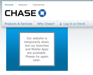 chase bank full site