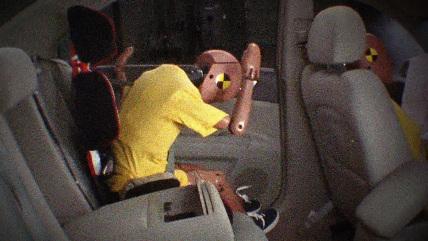 Seat belt test