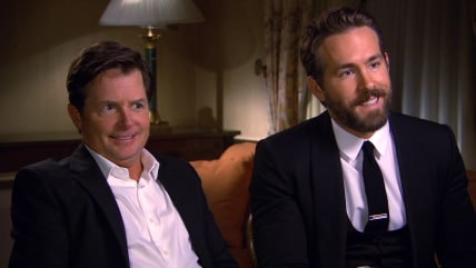 Michael J. Fox and Ryan Reynolds sat down with Willie Geist to talk about Parkinson's.