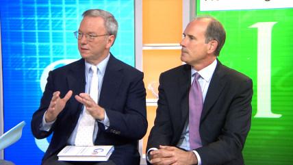 Google's Eric Schmidt and Jonathan Rosenberg