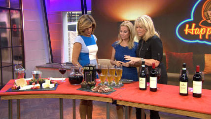 KLG and Hoda get wine tips