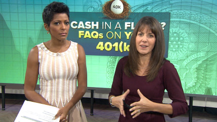Raid your 401(k)?