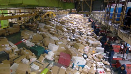 Post Office faces its busiest delivery day of the year.