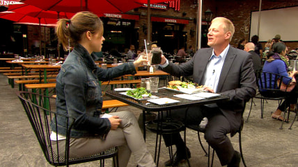 Jenna Wolfe and food psychologist Brian Wansink