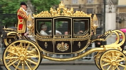 New royal carriage