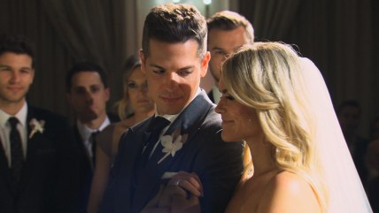 The wedding of Jason Kennedy and Lauren Scruggs