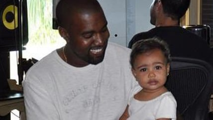Image: Kanye and North West
