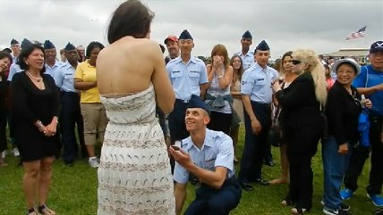 Military dad proposal