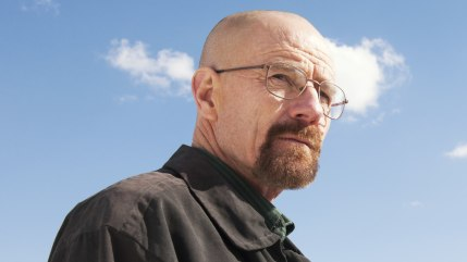 "Bryan Cranston as Walter White in a scene from ""Breaking Bad."""