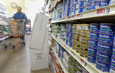 Image: Canned tuna