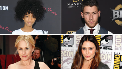 Image: Willow Smith, Nick Jonas, Patricia Arquette and Elizabeth Olsen