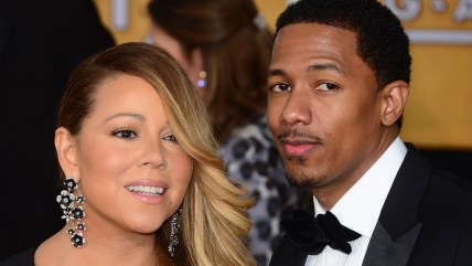 Image: Mariah Carey and Nick Cannon