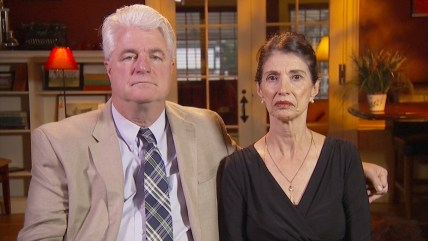 James Foley's parents