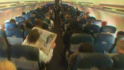 Image: interior of a plane