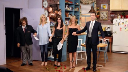 "Image: ""Friends"" reunion on ""Jimmy Kimmel LIve"