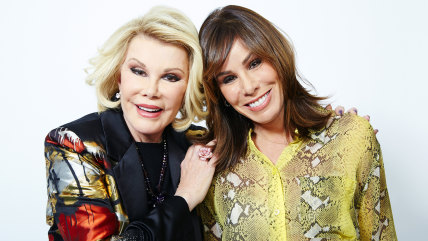 Image: Joan and Melissa Rivers.