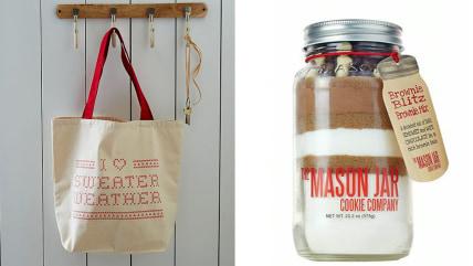 West Elm, The Mason Jar Cookie Company