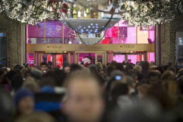 Because Dec. 25 falls on a Thursday this year, experts predict the 26th will see a boost in shopping compared to 2013.