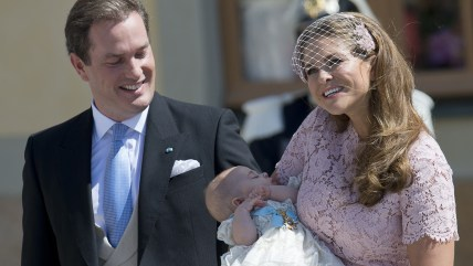 Princess Madeleine of Sweden and husband
