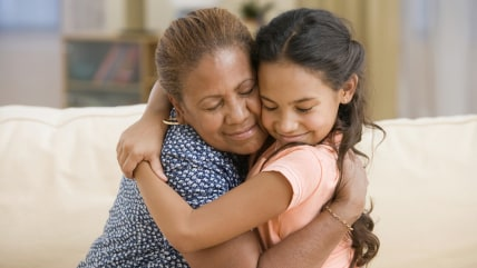 Mother and daughter hugging; Shutterstock ID 220380457; PO: TODAY.com