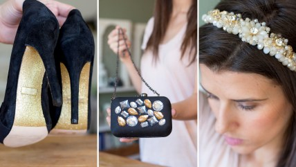 TODAY Show: Three easy DIYs to add glam and glitz to your New Year's Eve outfit.