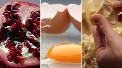 Cooking hacks: How to open a pomegranate, remove stray eggshells, soften butter and chop onions without crying