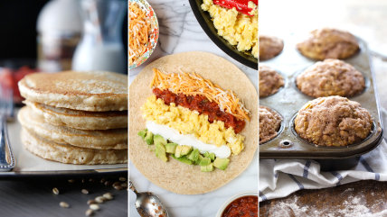 Healthy Breakfasts for the New Year