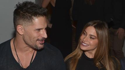 Image: Joe Manganiello and Sofia Vergara on December 4, 2014 in Los Angeles.