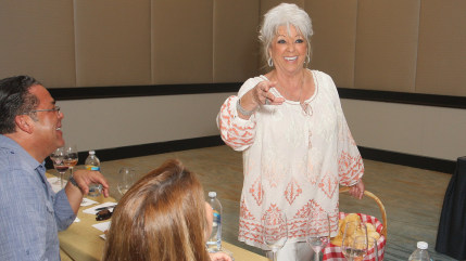 MIAMI BEACH, FL - FEBRUARY 23:  Paula Deen attends Bank of America Lifestyle Seminar Fried & True: A Fried Chicken Seminar hosted by Lee Brian Schrage...