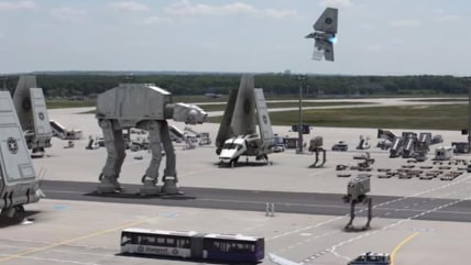 Image: Star Wars airport