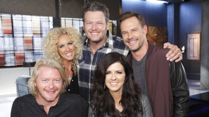 Image: Blake Shelton and Little Big To wn