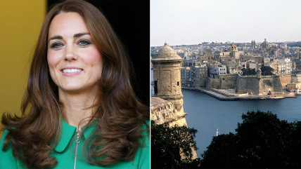 Catherine, Duchess of Cambridge is going to Malta