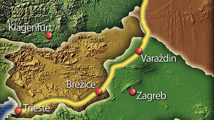 The first European Peace Walk will cover nearly 342 miles starting in Austria and continuing through Hungary, Croatia, Slovenia, Slovakia and Italy.