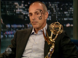 "Should Matt Lauer get a tattoo? If so, hopefully it will be more discreet than the one he sported while appearing two years ago on Jimmy Fallon's ""Late Show."""