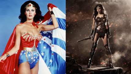 Wonder Woman then and now