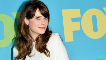 NEW YORK, NY - MAY 12:  Actress Zooey Deschanel attends the FOX 2014 Programming Presentation at the FOX Fanfront on May 12, 2014 in New York City.  (...