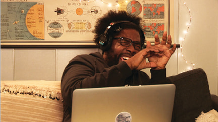 "Image: Questlove on ""Tonight Show"""