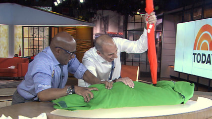 Al Roker and Matt Lauer